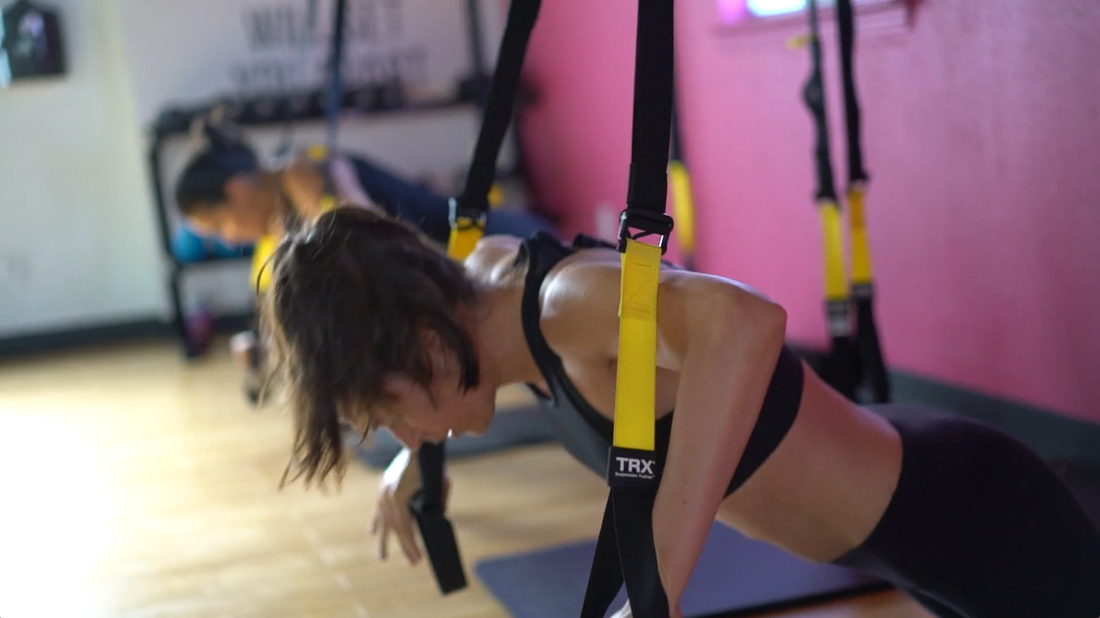 Camp GRIT TRX Fitness Class Athletic Training Workout