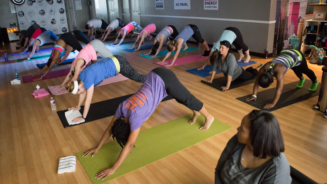 Flexin Flow Yoga Class Dallas Fitness Studio GRIT Fitness